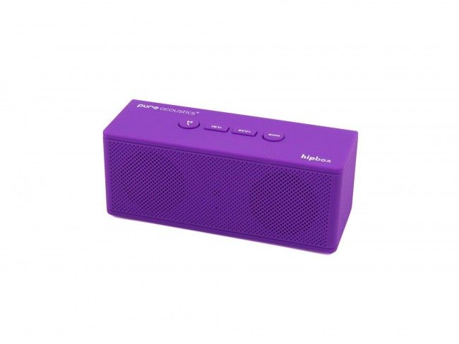 Pure Acoustics Hipbox Mini paars - Radio's met Bluetooth - Radio's - 123platenspeler.nl