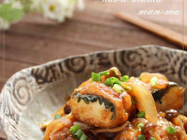 冷凍豆腐で♬肉巻き豆腐ステーキ♥の画像