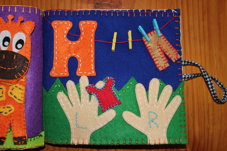 H for Hands Quiet Book