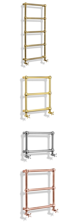 Caleido - Radiatore Caesar   Anno: 2014   Materiali: Ottone   #design #cersaie2014 #arredobagno #bathroomdesign #bagno #bathroom #interiordesign  