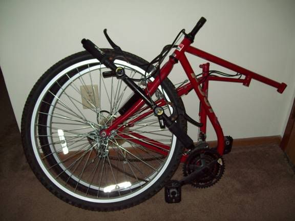 STAR CITY SCENE • View topic - Sweet folding mountain bike!