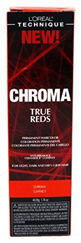Loreal Chroma True Reds Hair ColorGarnet 174oz 6 Pack >>> See this great product. (It is an affiliate link and I receive commission through sales)