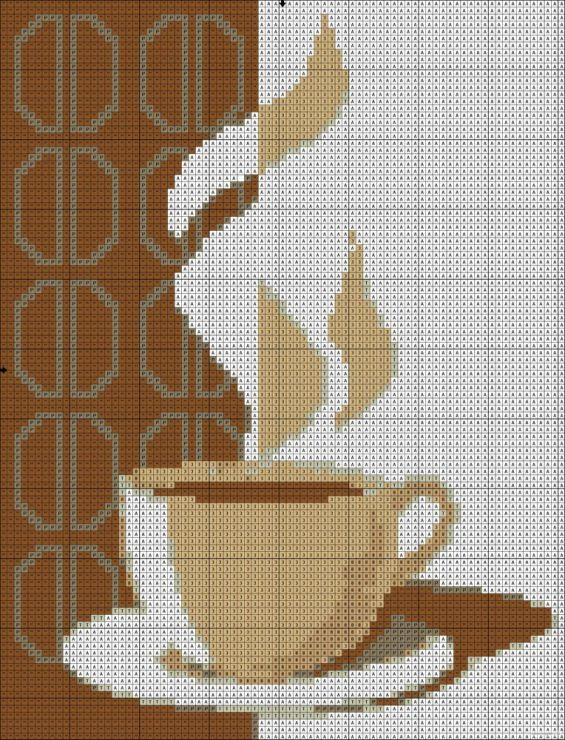 Coffee Cross Stitch