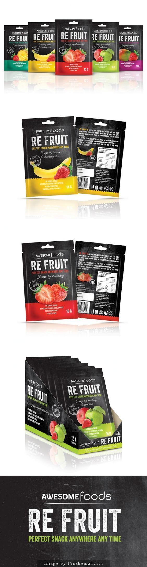 RE #FRUIT, Designer: Marcin Regucki - on Packaging of the World: