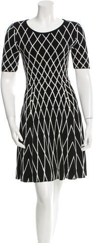 Milly Patterned Mini Dress w/ Tags