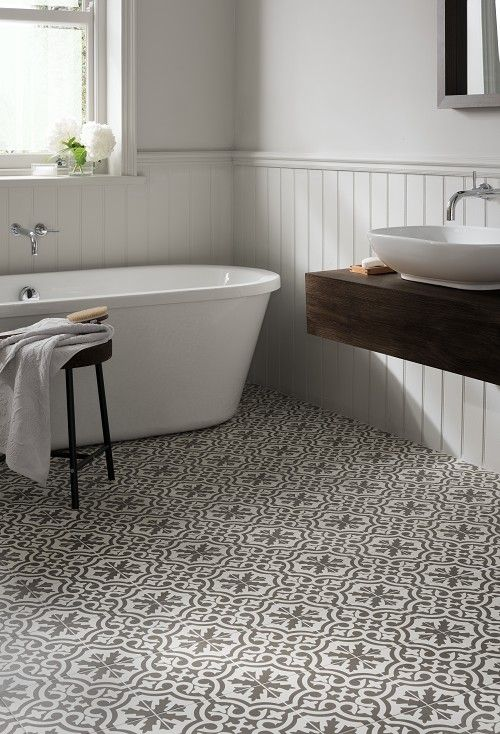 Berkeley charcoal tile home pinterest for Bathroom floor ideas uk