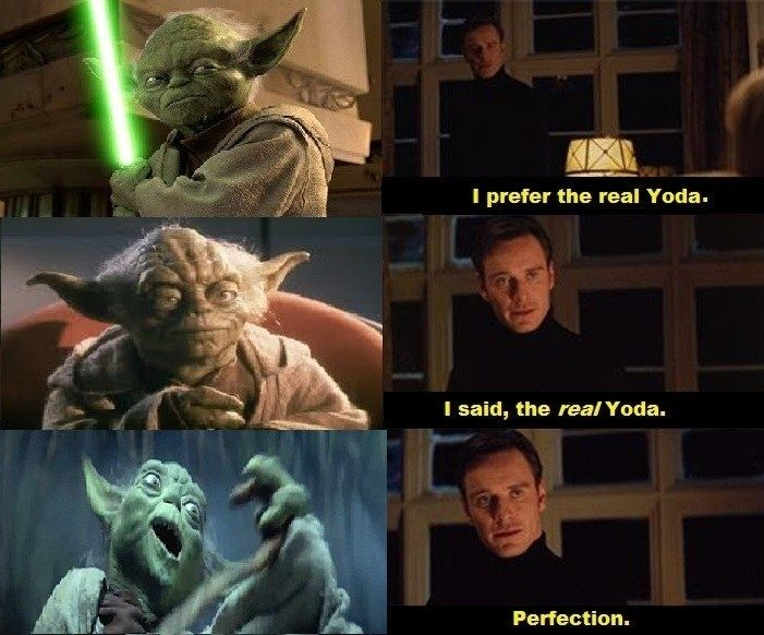 I can't stand the animated Yoda. My favorite is the original. He has personality and looks realistic. #StarWars #Inagalaxyfarfaraway