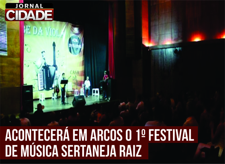Inscrições para o evento poderão ser realizadas de 10 de fevereiro a 21 de março na Casa de Cultura.  Saiba mais: http://www.jornalcidademg.com.br/prefeitura-de-arcos-apresenta-o-1o-festival-de-musica-sertaneja-raiz-clube-da-viola/