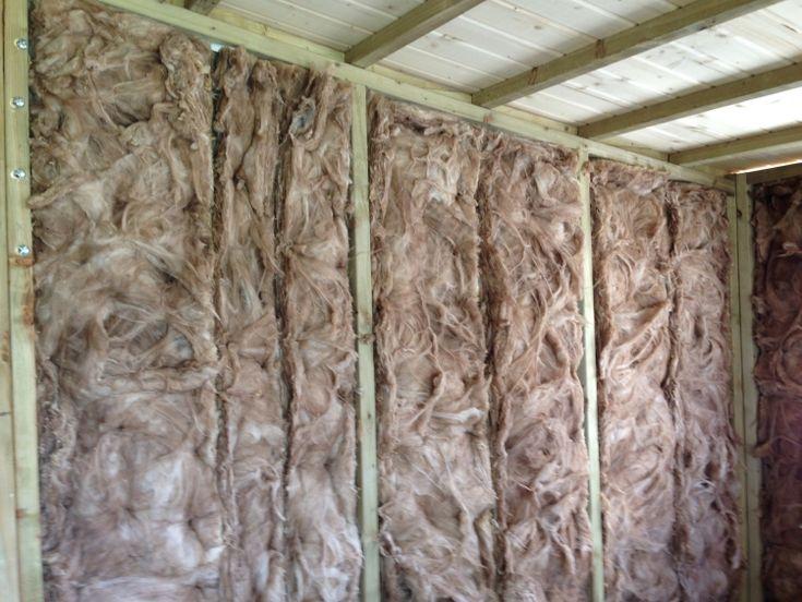 Holz Gartenhaus dämmen - Das Material und was noch zu beachten ist