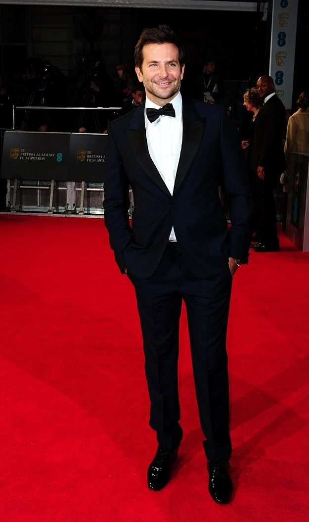 Bradley Cooper. | 15 Beautiful Men Who Graced The 2014 BAFTAs Red Carpet