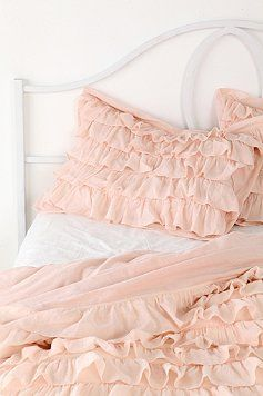 Pink Ruffle Sham