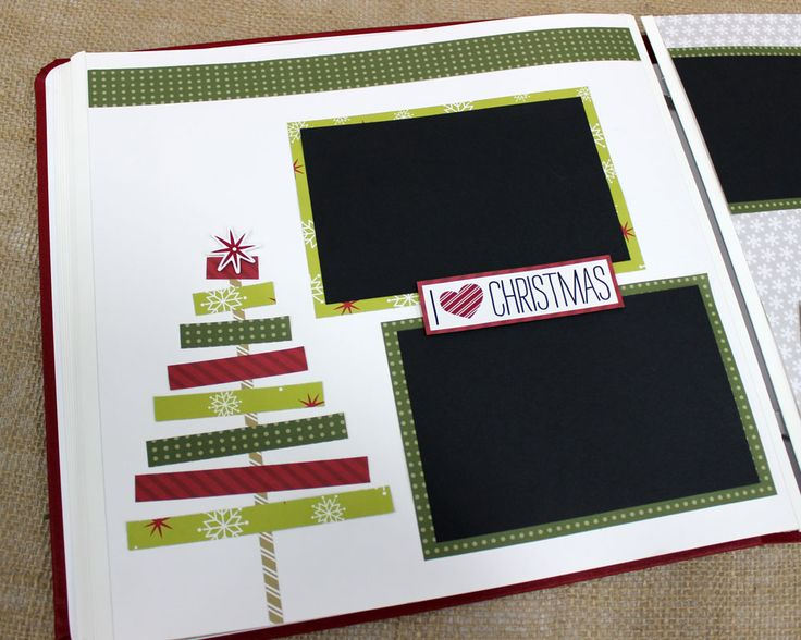 12 Days of Christmas Ideas: Day 1 - Scrappin' with your Scraps