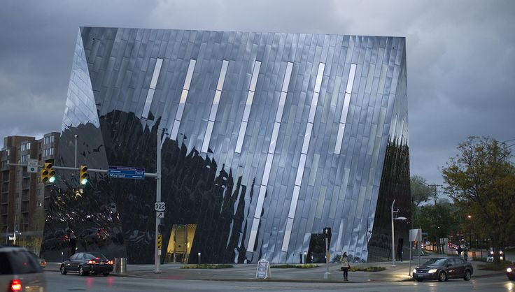Museum of Contemporary Art Cleveland, Cleveland, USA   Farshid Moussavi