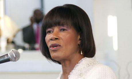 Portia Simpson Miller - Jamaican prime minister