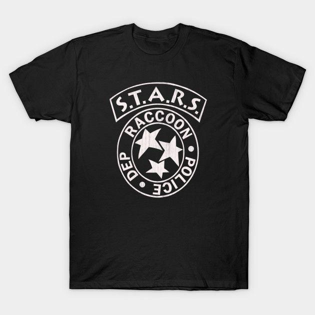 STARS Gear: a Resident Evil shirt design. #residentevil #videogames #zombies #stars #playstation #retro #gamers