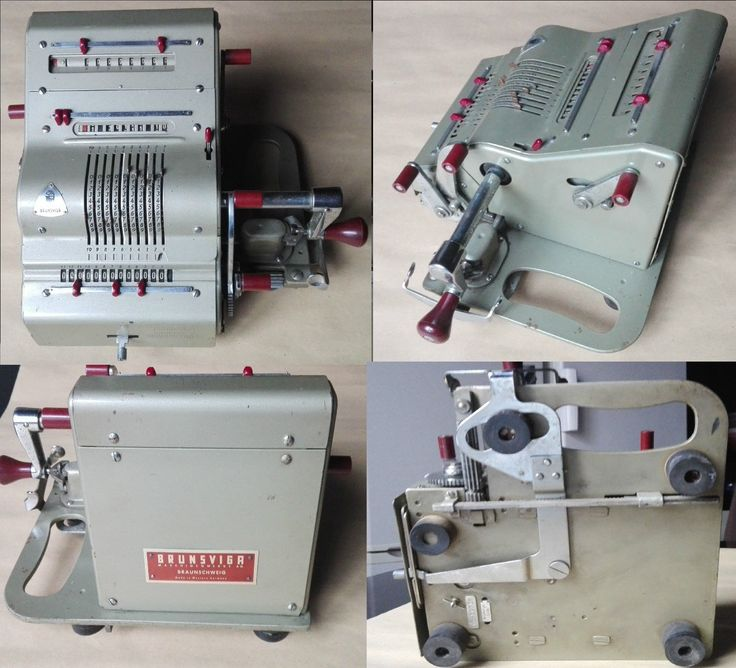 Ancienne Machine a Calculer Vintage Brunsviga 13RK in Collections, Sciences…