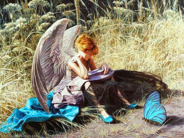 Absolutely Dreamy Painting by Joanna Sierko-Filipowska