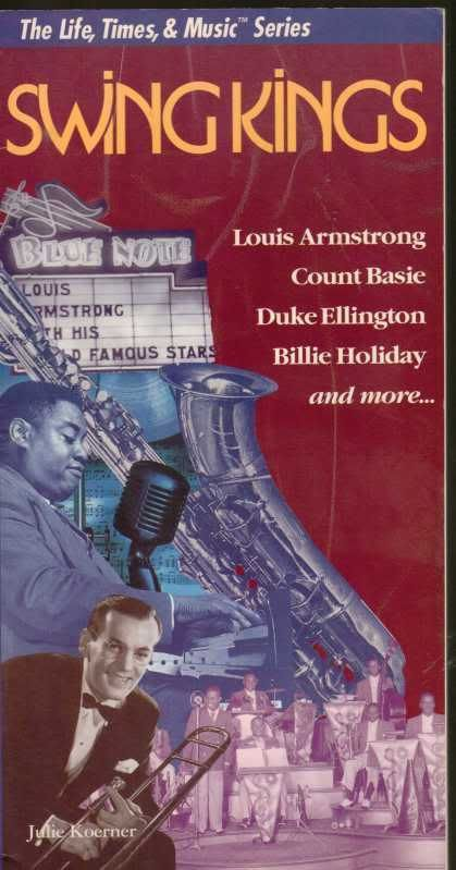 Swing Kings The Life Times & Music Series Basie Holiday Jazz Photos History