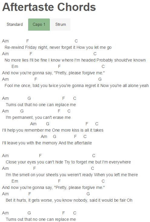 135 Best Guitar Chords Images On Pinterest Music Lyrics Sheet