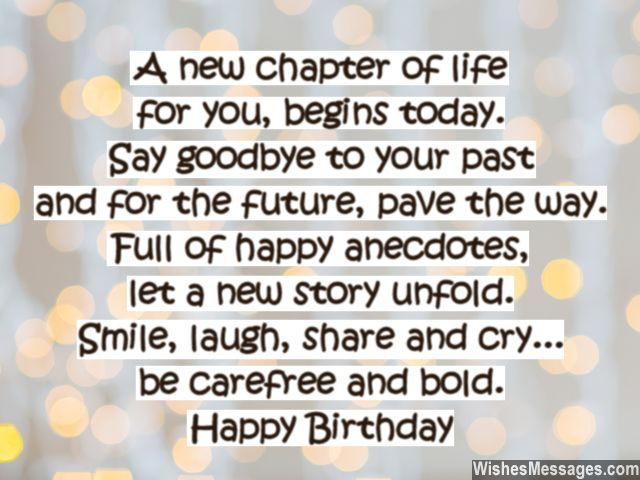 Quotes About Turning 29: A New Chapter Of Life For You, Begins Today. Say Goodbye
