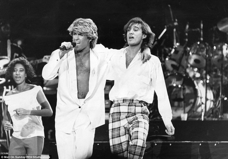 George Michael and Andrew Ridgeley performed together on stage in Peking, China, after they formed Wham! in 1981