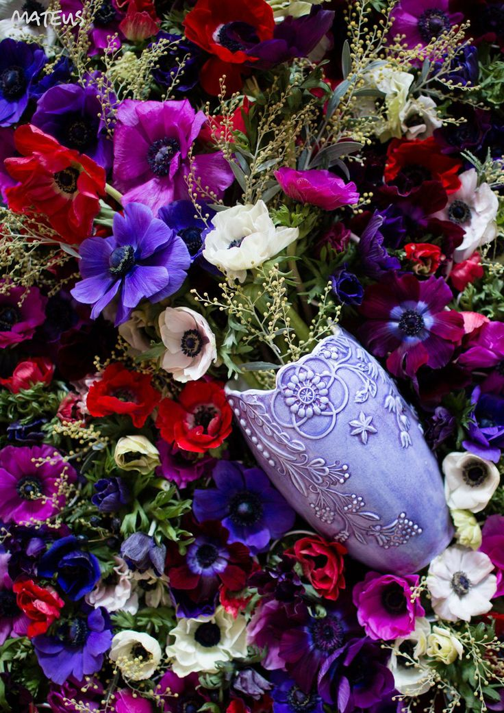 Flower Vase from Mateus, design Tord Boontje #flowervase #mateus #ceramics #flower #boontje #vase #spring