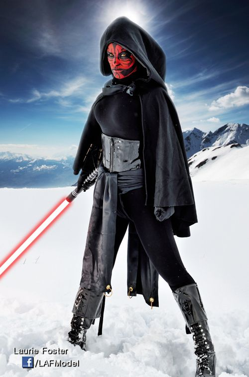 Female Darth Maul Cosplay http://geekxgirls.com/article.php?ID=1955
