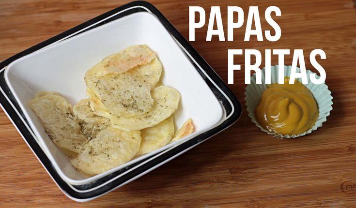 Papas fritas en el horno microondas #RECETA #Microondas