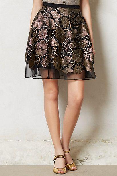 nice printed skirt
