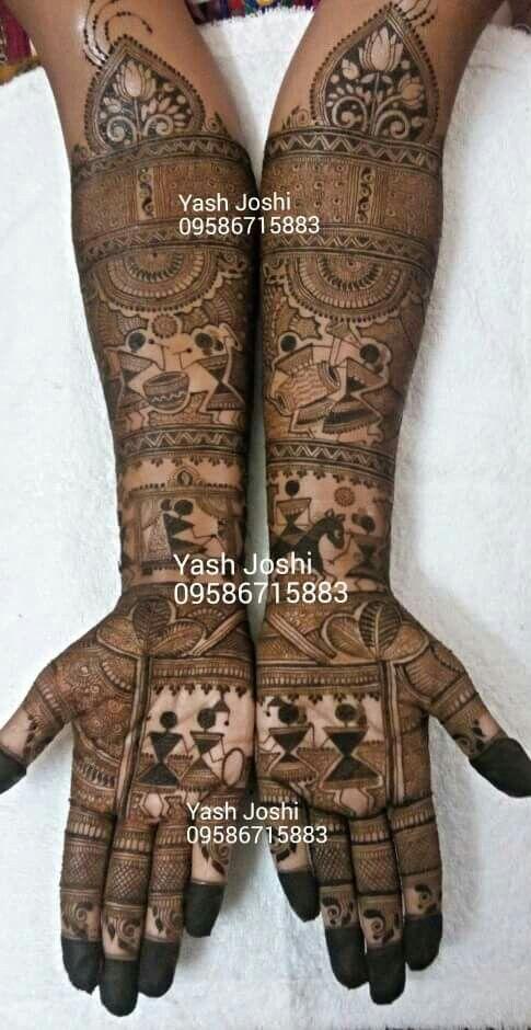 tribal mehndi