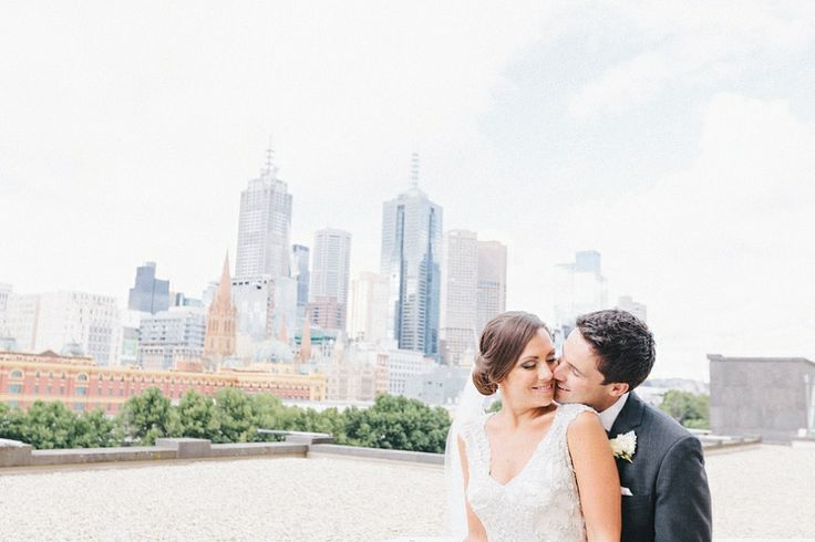 Matt & Steph's Wedding in Melbourne CBD at the Langham {JSP} | James Simmons Photography Fine Art and Destination Wedding Photography Perth,...