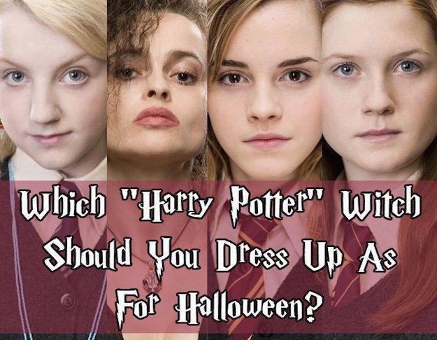"Which ""Harry Potter"" Witch Should You Dress Up As For (next) Halloween?"