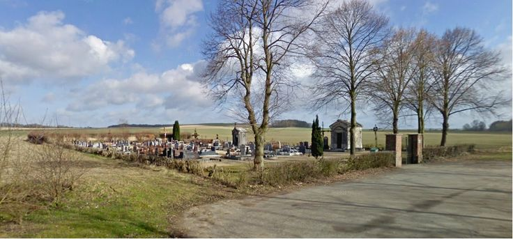 The cemetery in the Somme where my great-uncle Louis (who died in battle in September 1918) was originally buried.
