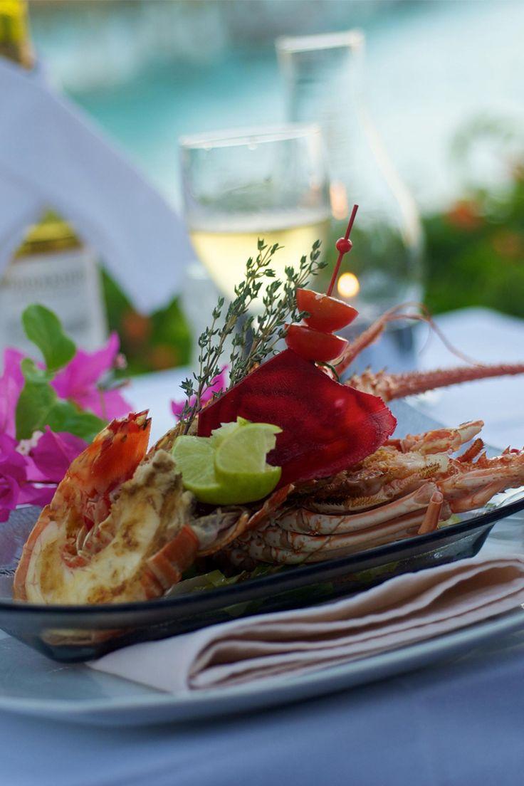 Amazing seafood at intercontinental le moana bora bora