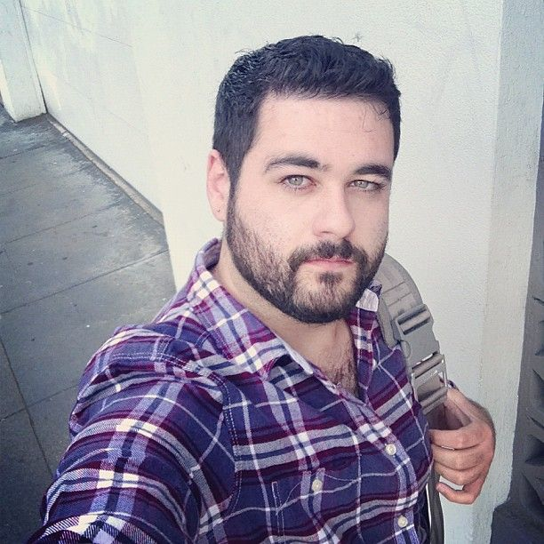 @sympas- #webstagram #bear #beard