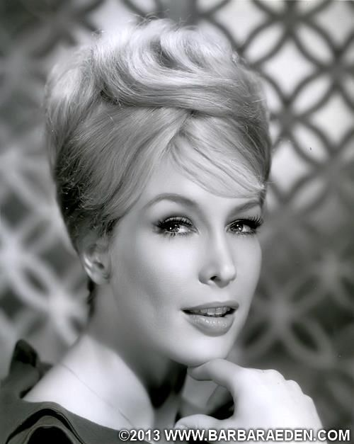 A Classic 1964 Head Shot Of Barbara Eden During Her Time With Columbia Pictures.