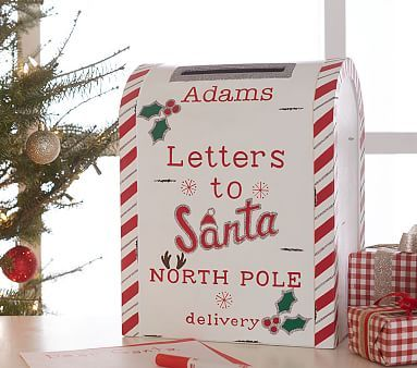 Letters To Santa Personalized Mailbox #pbkids
