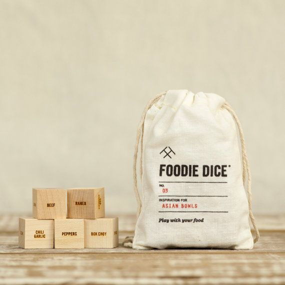 Play with your food with Foodie Dice! ...............................................................................................