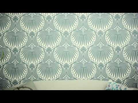 """How to Hang Wallpaper - I especially like the use of the terms """"cuppa"""" and """"fusspot""""!"""