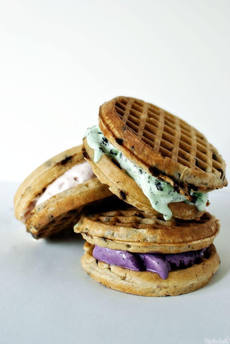 waffle ice cream sandwiches ♥Manhattan Girl