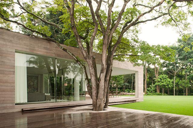 Casa Grecia by Isay Weinfeld: Future Houses, Sao Paulo Brazil, Grecia Houses, Isay Weinfeld, Casa Grecia, Decks, Interiors Design, Inside Outside, Modern Home