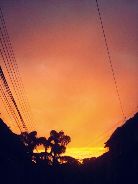 El cielo es degradado// ~Bucaramanga-Santander~