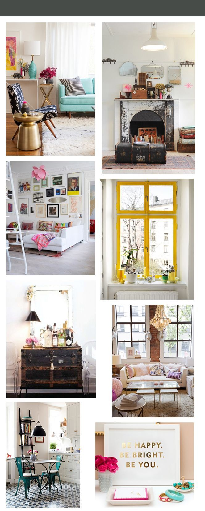 apartment decor inspiration the glossy guide: make your apartment a home-REALLY good tips in here... So cute!