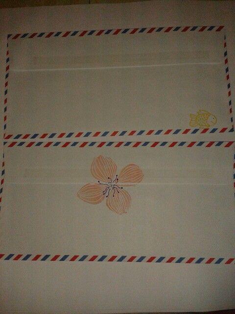 Sobres - made by pececito arcoiris