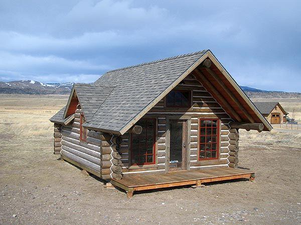 Paul's Tiny Log Cabin
