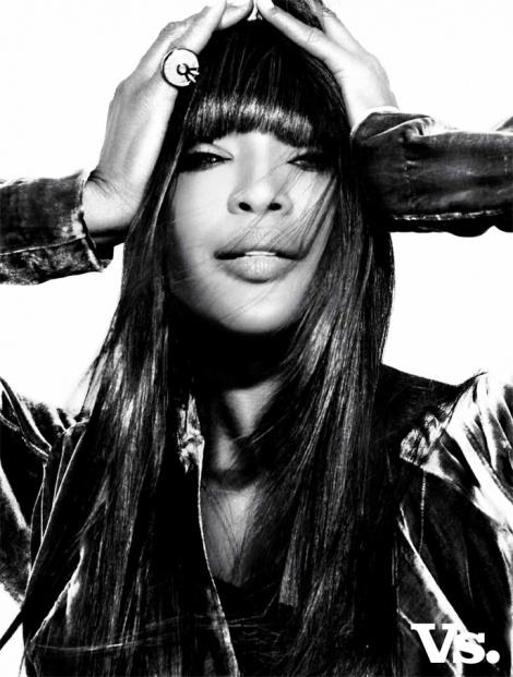 Top model Naomi Campbell in Rützou jacket | Vs. Magazine 2010