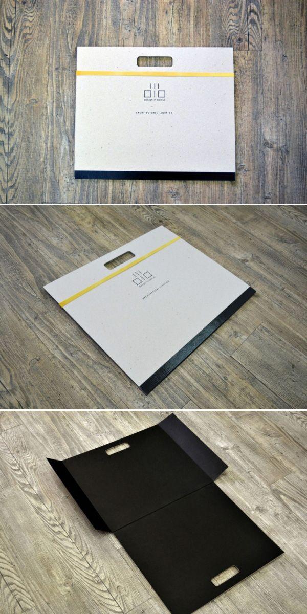 Presentation folder for Design In Beirut - Architectural Lighting