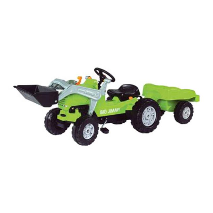 Toys Toys Jimmy Loader Tractor & Trailer Pedal Riding Toy - BIG-56525