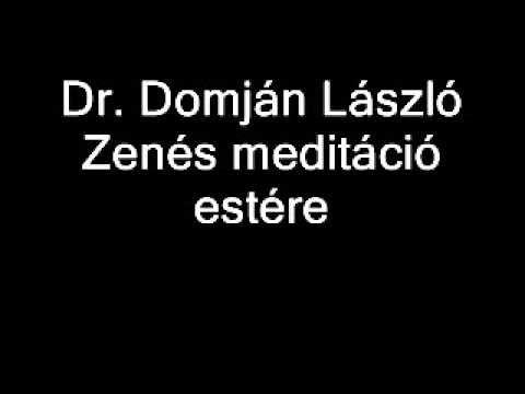 Domján László zenés meditáció estére - YouTube