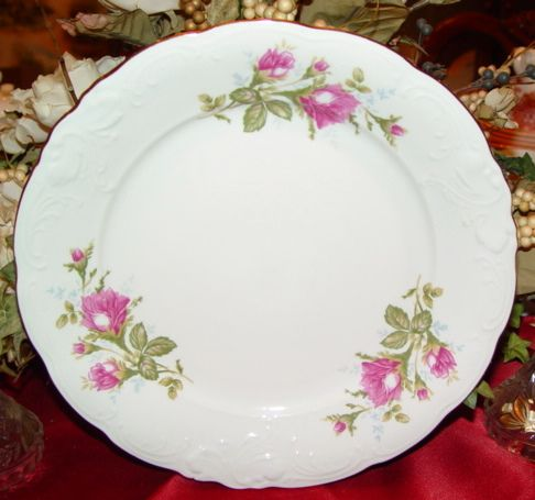 17 Best Images About Moss Rose Dinnerware On Pinterest